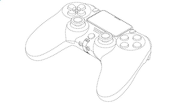 That's what the PS5 controller might look like. But that's not sure.