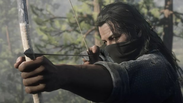 Using bows and arrows, such as in Red Dead 2, would feel much more natural thanks to Adaptive Triggers.