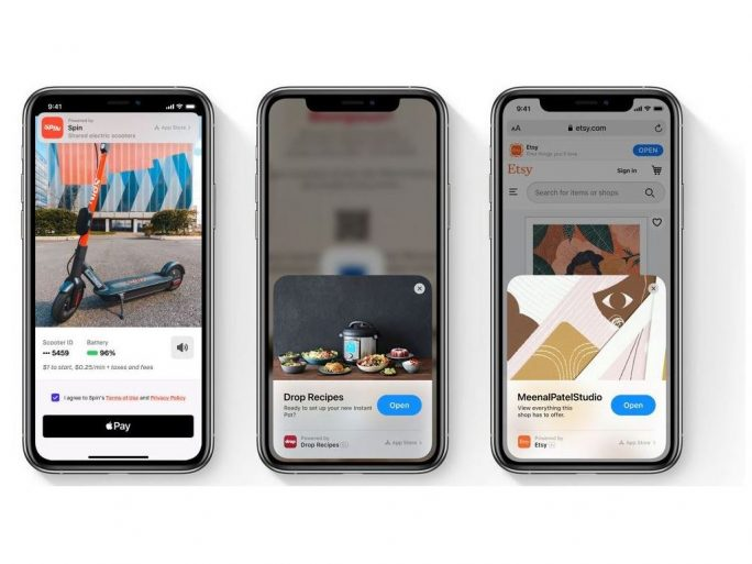 App clips (Image: Apple)